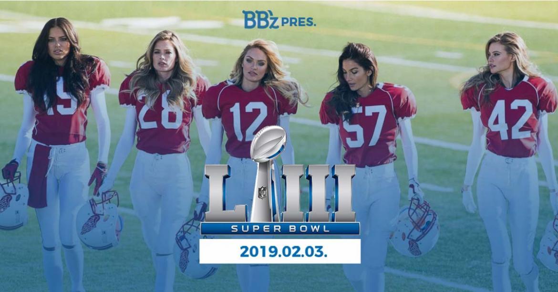 WATCH SUPER BOWL LIII LIVE AT BB'Z